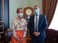 Глава НБУ впервые встретился с послом Германии: О чем шла речь
