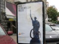 Рекламная кампания пересадила киевские памятники на велосипеды