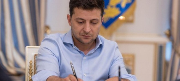 Зеленский подписал закон о льготах для бизнеса в карантин