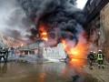 В Подольском районе вспыхнул масштабный пожар