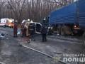 Под Харьковом Lanos разбился об КАМАЗ: четверо погибших