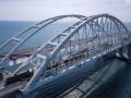На Крымском мосту закончили укладывать рельсы