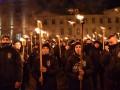 Во Львове марш в честь дня рождения Бандеры собрал 400 человек
