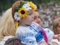 В Полтаве участники Мегамарша вышиванок читали наизусть Заповит Шевченко