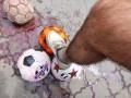 В Одессе посольство РФ забуцали кровавыми мячами