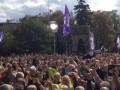 В Украине прошли массовые акции в поддержку свободы слова и телеканала ТВі