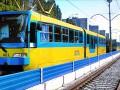 Проезд в киевском скоростном трамвае можно будет оплатить банковской карточкой