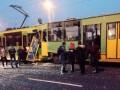 В Польше столкнулись три трамвая, есть пострадавшие