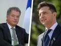 В Киеве началась встреча Зеленского и президента Финляндии Ниинистё