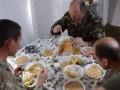Как питаются украинские военные - сюжет Военного телевидения