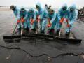 В Израиле из нефтепровода вытекли миллионы литров нефти