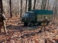 На Сумщине застрял грузовик с контрабандной икрой из России