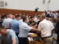 На сессии Тернопольского облсовета подрались депутаты