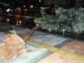 Сильнейший шторм с ливнем затопил Анталью