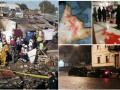 Итоги 21 декабря: погром в синагоге в Умани, Порошенко в СБУ и взрыв фейерверков в Мексике