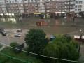 Ивано-Франковск затопил сильный ливень