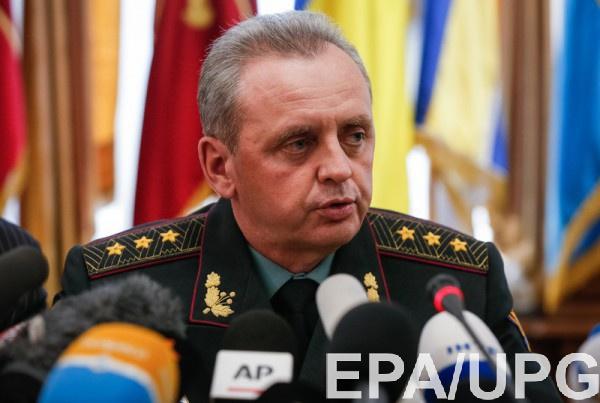 Муженко также сообщил, что Россия отправляет десятки тысяч военных в Крым