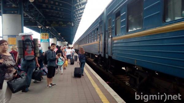 Укрзализныця больше всего заработала на пассажирах, которые отправлялись в Москву