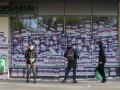 Во Львове Азов бессрочно заблокировал Сбербанк