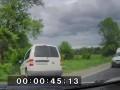 Погоня на Черниговщине попала на видео