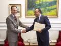 Новый посол Болгарии начал работу в Украине
