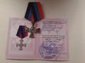 В ДНР Беркут раздает боевикам ордена со свастикой