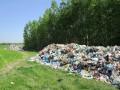 Под Житомиром выкинули тонны львовского мусора