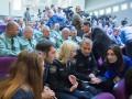 Новое и старое: как в одном зале собрались работники МВД и полицейские