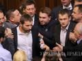 Первая драка в Раде восьмого созыва: появились фото и видео