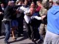 «Ты к психиатру сходи»: как начинался спор Шуфрича с активистами в Одессе (видео)