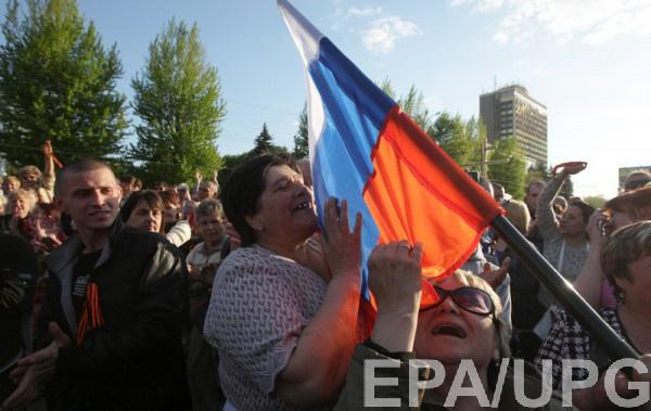 Около половины жителей Донбасса не идентифицируют себя как граждане Украины