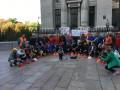 Криворожские горняки прекратили протест возле офиса президента