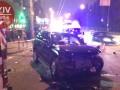 ДТП в Киеве: разбиты пять авто, двое пострадавших