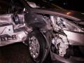 В Киеве случилось ДТП с участием такси, пострадал пассажир