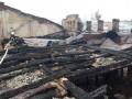 В Киеве в очередной раз пожар возник в старом доме на Хмельницкого