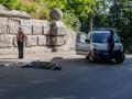 В центре Киева самоубийца прыгнул с Моста влюбленных