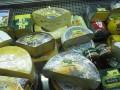 В Ялте сожгли полтонны сыров из ЕС и колбасы из Украины