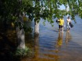 Фотогалерея: Большая вода. В Киеве затопило Гидропарк