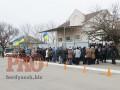В Бердянске простились с майором Карачевским, застреленым российским военным в Крыму