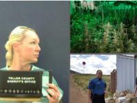 В США задержали украинку, хранившую дома марихуаны на $ 1,4 млн