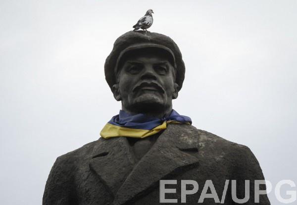 Страсти поЛенину: УЛаврова призвали Украинское государство оставить «хоть какой-то» монумент