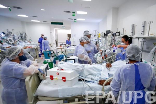 Динамика заболеваемости в Украине замедлилась