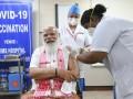 В Индии премьер вакцинировался препаратом Covaxin