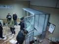 Обнародованы фото и видео погромов в Святошинском райсуде