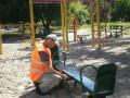 Киевзеленстрой отчитался о ремонте детских площадок