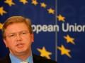 Фюле надеется, что на востоке Украины пройдет общеукраинский круглый стол