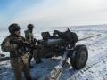 Под Горловкой военные стянули дополнительную артиллерию -