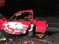 В Киеве ночью столкнулись две иномарки, водители погибли