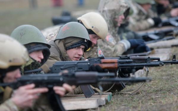 Украинским военным разрешено применять оружие для самозащиты