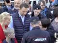 На митинге в Москве с Навальным увидели молодого